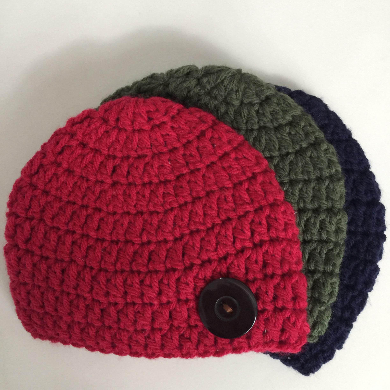 Classical Newborn Crochet Hat Pattern – My little journal
